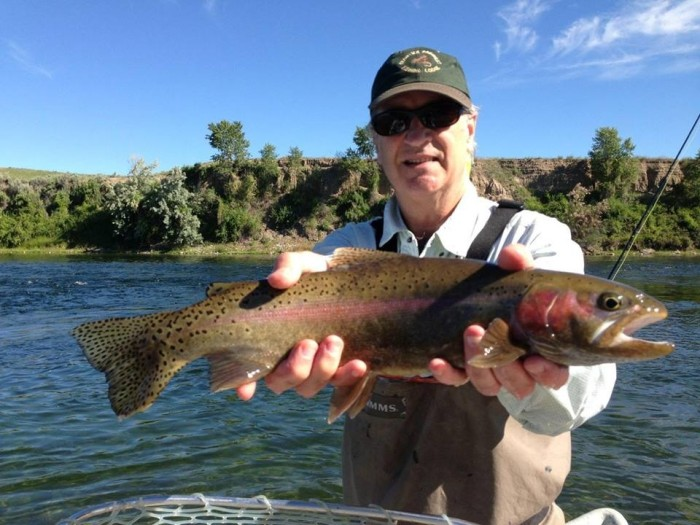 July Fishing on the Bighorn.