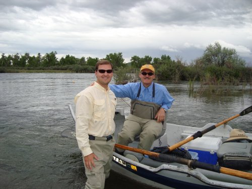 Father & Son on the Bighorn