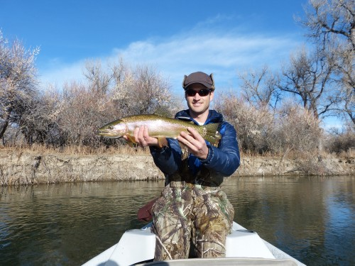 Winter Fly fishing on the Bighorn River
