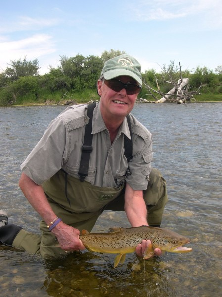 Jim with a killer Brown