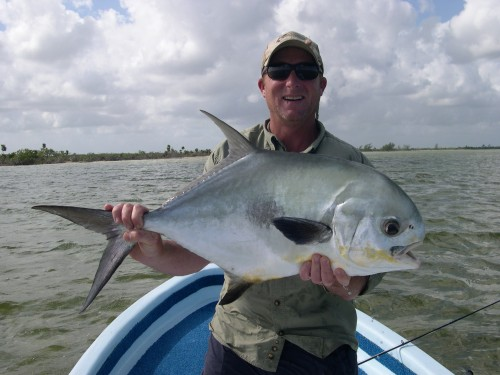 3rd Permit caught in Punta Allen, MX